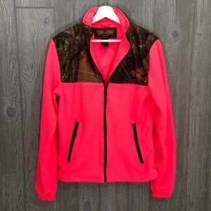 Trail Crest Hot Pink Camo Jacket